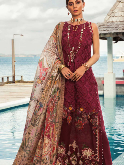 Noor by Saadia Asad Luxury Lawn 2019 - Original