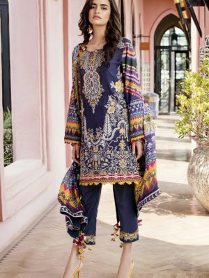 Baroque Luxury Lawn 2019 RESTOCKED Baroque Luxury Lawn 2019 - Original Baroque Luxury Luxury Lawn 2019