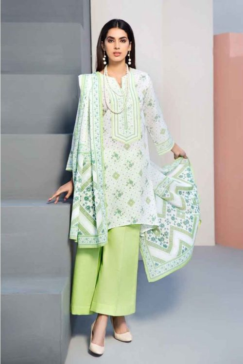 GulAhmed Mal Mal Collection 3 PC Lawn Suit  CL-548 B –  FSTN HOT