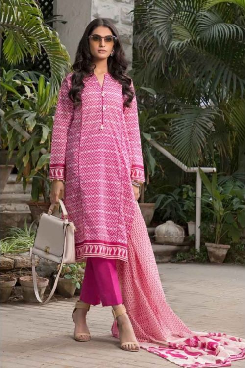GulAhmed Mal Mal Collection 3 PC Lawn Suit CL-549 B – HOT Gul Ahmed Gul Ahmed