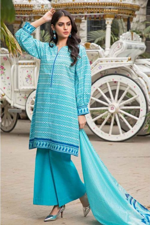 GulAhmed Mal Mal Collection 3 PC Lawn Suit CL-549 A –  FSTN HOT GulAhmed Limited Edition Malmal Collection - Original best pakistani suits collection