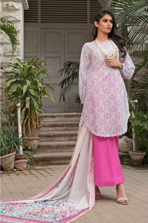 GulAhmed Mal Mal Collection 3 PC Lawn Suit  CL-520 B –  FSTN HOT