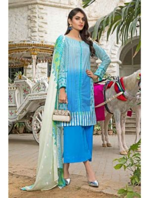 GulAhmed Mal Mal Collection 3 PC Lawn Suit CL-549 A –  FSTN HOT
