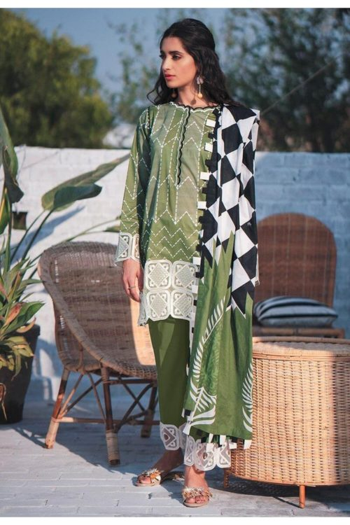 Cross Stitch Toile Summer Lawn - Original Cross Stitch Toile Summer Lawn Cross Stitch Pakistani Suits