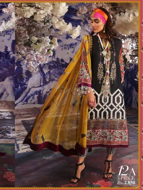 Sana Safinaz Muzlin Vol 2 – 2019- 12A RESTOCKED