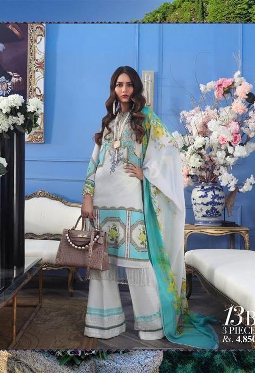 Sana Safinaz Muzlin Vol 2 – 2019- 13B