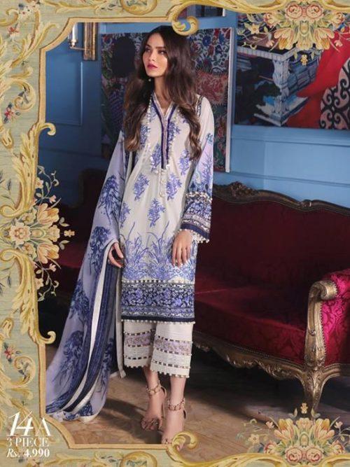 Sana Safinaz Sana Safinaz Muzlin Vol 2 – 2019- 14A best pakistani suits collection