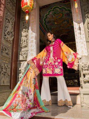 Indian Iznik Style Salwar Kameez