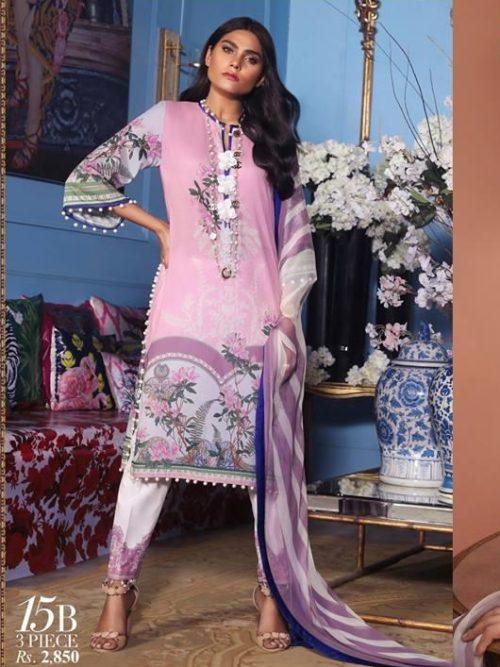 Sana Safinaz Muzlin Vol 2 – 2019- 15B RESTOCKED