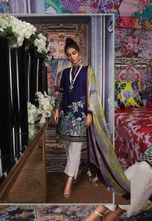 Sana Safinaz Muzlin Vol 2 – 2019- 18B RESTOCKED