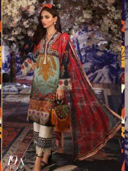 *Hot on Sale* Sana Safinaz Muzlin Vol 2 – 2019- 19A HOT best pakistani suits collection