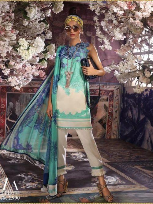 Sana Safinaz Muzlin Vol 2 – 2019- 1A RESTOCKED