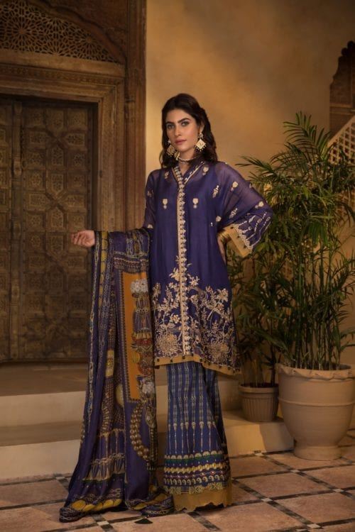 Sapphire Eid Edition 2019 Majestic Blue