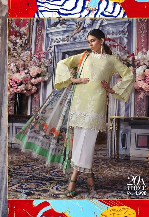 Sana Safinaz Muzlin Vol 2 – 2019- 20A