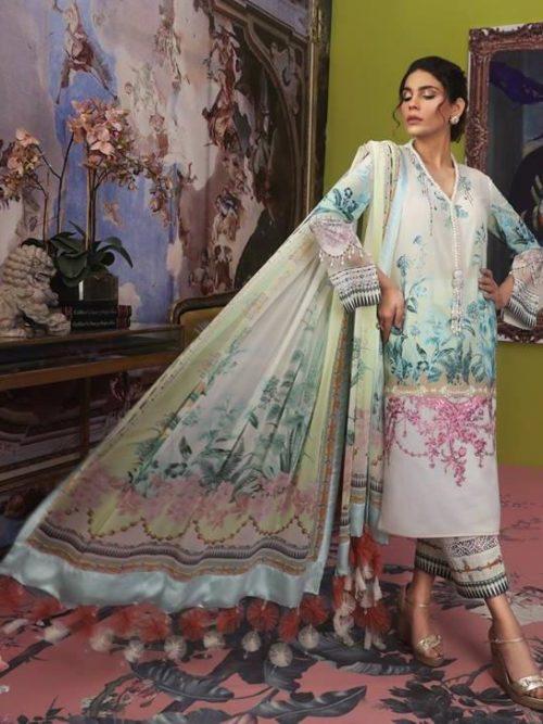 Sana Safinaz Muzlin Vol 2 – 2019- 2B RESTOCKED