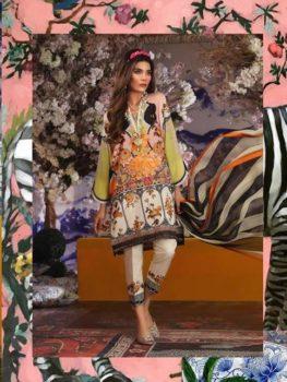 Sana Safinaz Muzlin Vol 2 – 2019- 4A STITCHED LARGE SIZE