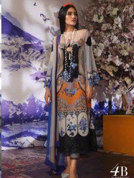 Sana Safinaz Sana Safinaz Muzlin Vol 2 – 2019- 4B best pakistani suits collection