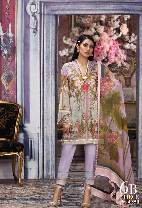 Sana Safinaz Muzlin Vol 2 – 2019- 6B