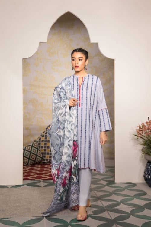 Sapphire Eid Edition 2019   Parizeh Classic – 2 Piece