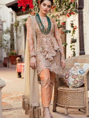 GulAhmed Mal Mal Collection 3 PC Lawn Suit   BM-121 – HOT