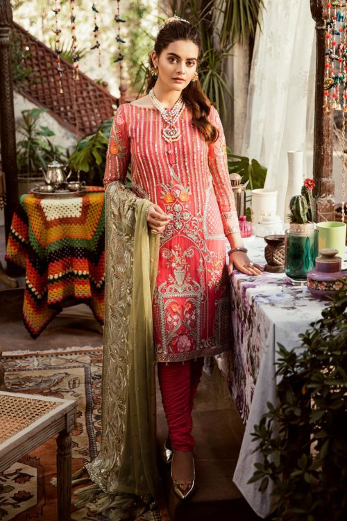 Grandeur Ecstasy Ramzan Eid Collection from Imrozia 703 The Sweetened Stripes RESTOCKED UZ