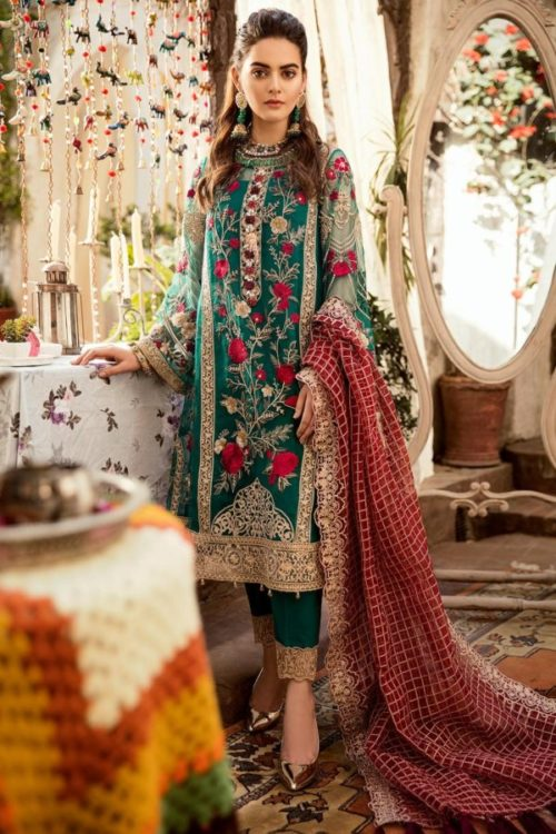 Grandeur Ecstasy Ramzan Eid Collection from Imrozia 706 The Mystic Oceania RESTOCKED