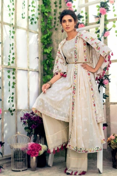 Gul Ahmed Eid Collection 2019 FE184 RESTOCKED Gul Ahmed Eid Collection 2019 - Original Best Sellers
