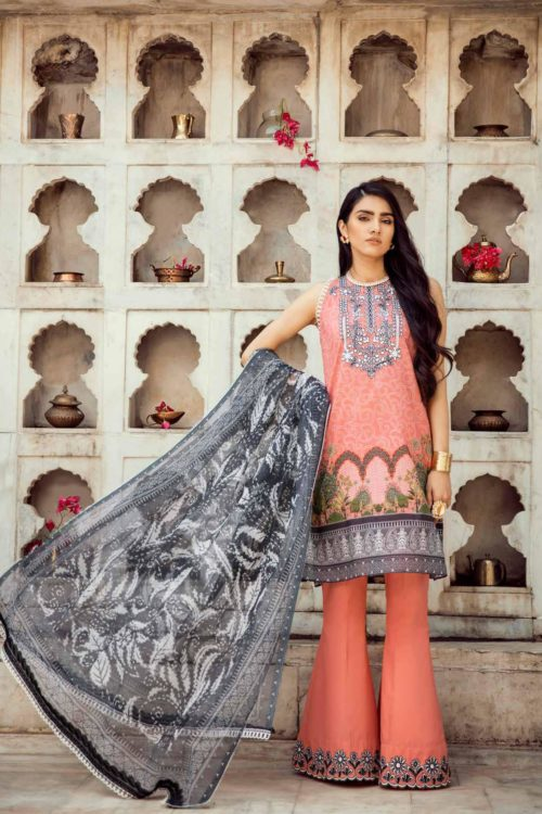 Cross Stitch Pakistani Suits Rani Bagh – Luxury Lawn '19 Design 09 –  FSTN HOT