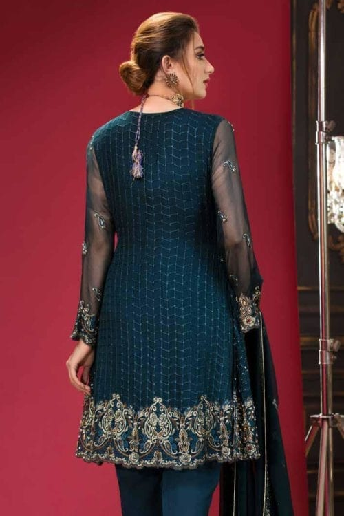 ~Sold out~ Ramsha Eid 2019 RESTOCKED Chiffon Dupatta Salwar Suit