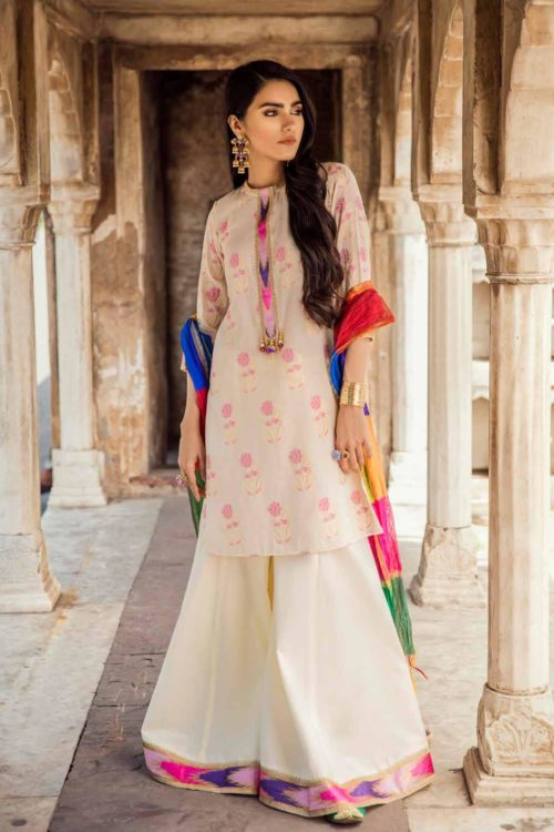 Cross Stitch Pakistani Suits Rani Bagh – Luxury Lawn '19 HOT