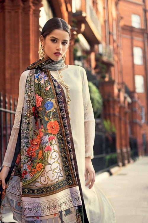 Gul Ahmed Gul Ahmed Eid Collection 2019 FE199 Gul Ahmed