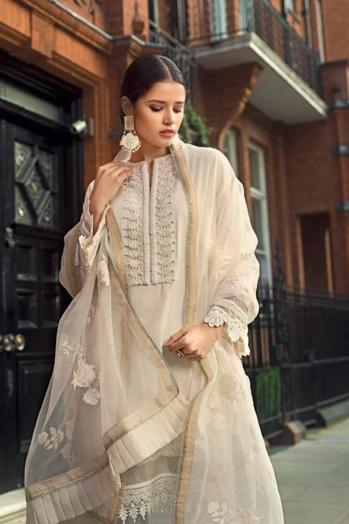 *Hot on Sale* Gul Ahmed Eid Collection 2019 FE201 HOT best pakistani suits collection