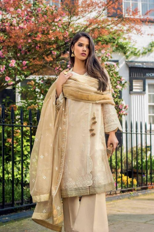 Gul Ahmed Eid Collection 2019 FE235 HOT