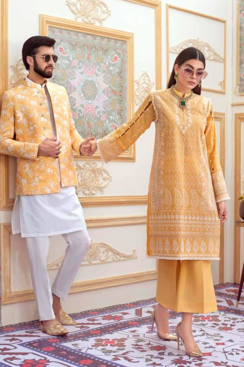 *On Sale* Gul Ahmed Eid Chickenkari Collection 2019 FE211 RESTOCKED best pakistani suits collection