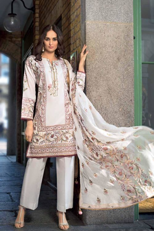 Gul Ahmed Eid  Collection 2019 FE179 Gul Ahmed Eid Collection 2019 - Original best pakistani suits collection