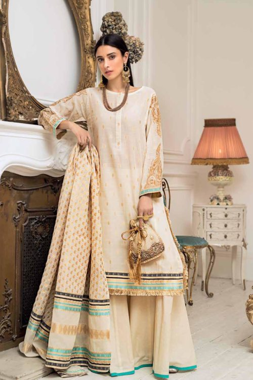 Gul Ahmed Eid  Collection 2019 FE224 Gul Ahmed Eid Collection 2019 - Original best pakistani suits collection