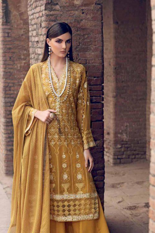 Gul Ahmed Eid  Collection 2019 FE253 Gul Ahmed Eid Collection 2019 - Original Gul Ahmed