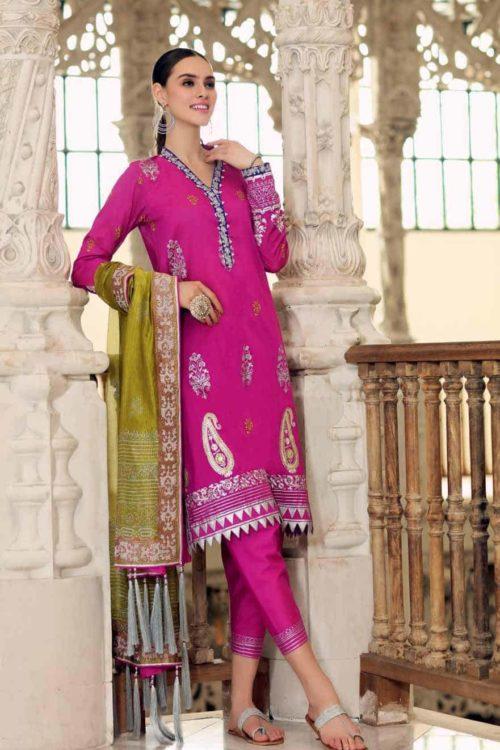 Gul Ahmed Eid  Collection 2019 FE214 Gul Ahmed Eid Collection 2019 - Original Gul Ahmed