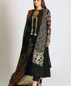 Khaadi Festive Eid  –  LCP19208-Black-3Pc RESTOCKED UZ