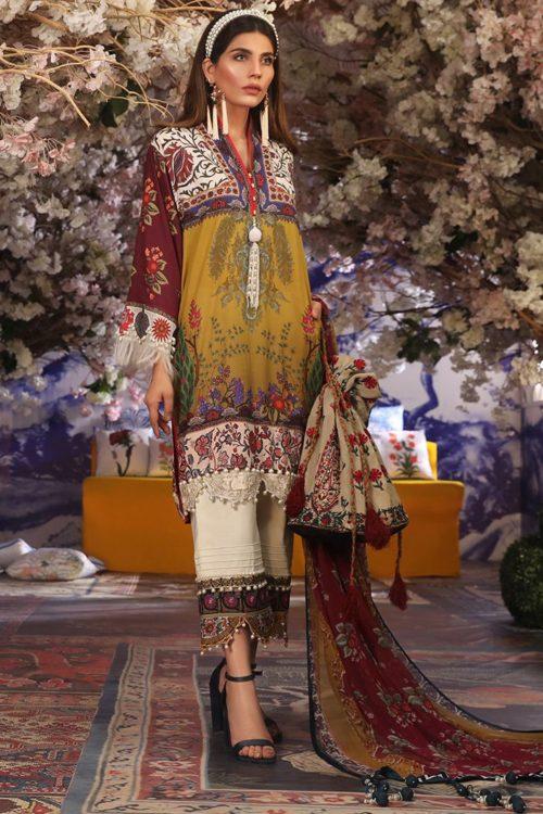 Sana Safinaz Muzlin Vol 2 – 2019- 19B RESTOCKED