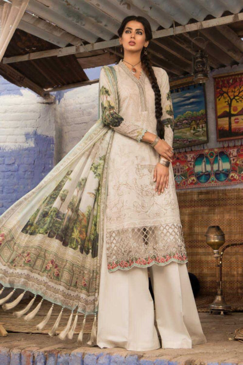 *On Sale* MARIAB MPRINTS 2019 MPT-504-A RESTOCKED best pakistani suits collection
