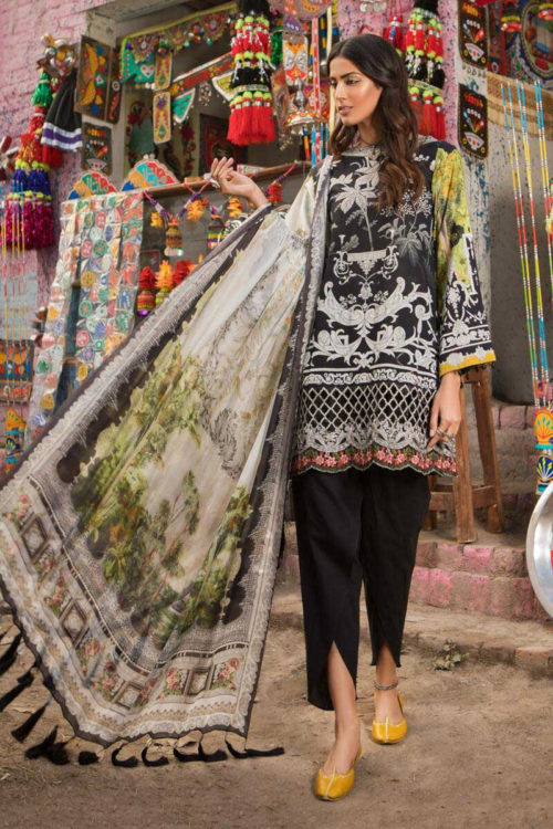 MARIAB MARIAB MPRINTS 2019 MPT-504-B RESTOCKED! eid shopping