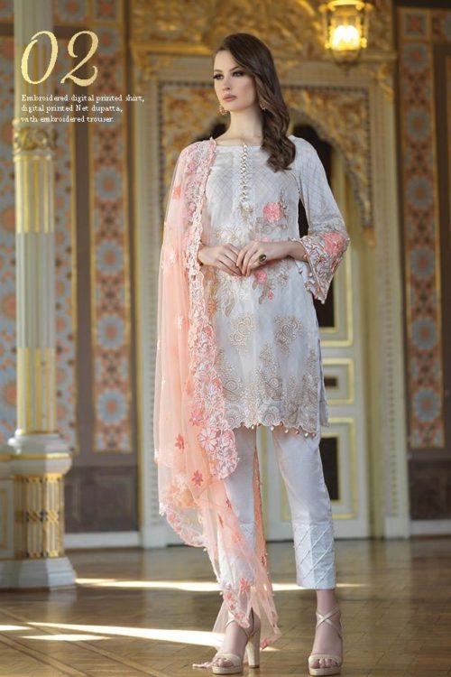 Mahiymaan Eid Luxury 2019 Design 02 HOT