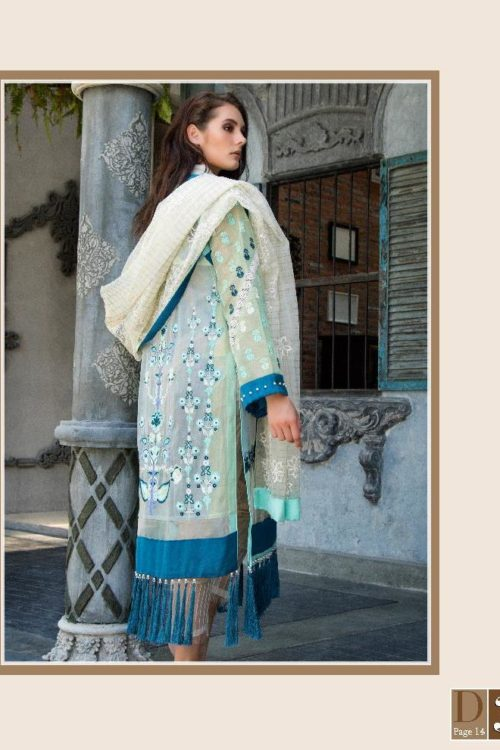 Ready to Ship Zunuj Festive by Zunn Chiffon Dupatta Salwar Suit