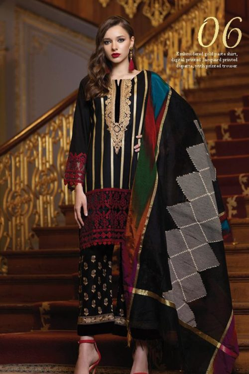 *Hot on Sale* Mahiymaan Eid Luxury 2019 Design 06 HOT best pakistani suits collection