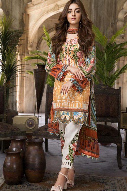 SatinStitch Lawn – Exclusive RESTOCKED SatinStitch Lawn - Exclusive - Original best pakistani suits collection