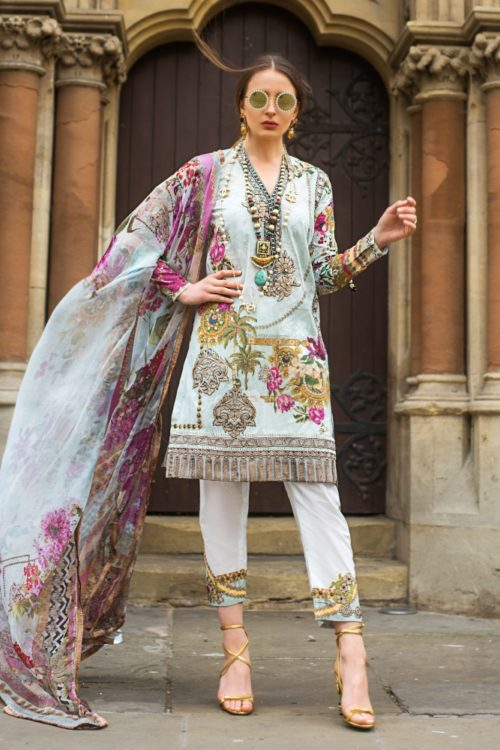 Agha Noor Unstitched 2 Pc Collection  Classic White Design 664 Best Sellers Restocked [tag]