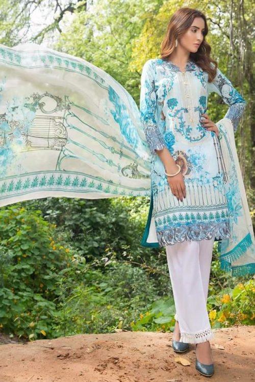 Samina's Lawn Embroidered RESTOCKED