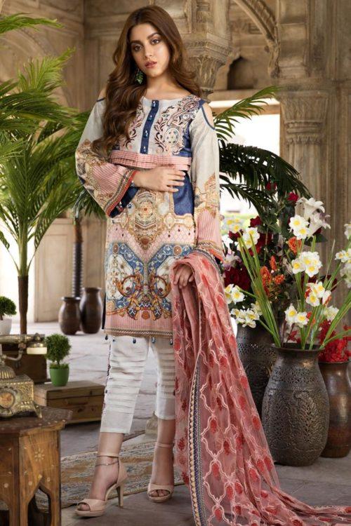 SatinStitch Lawn – Exclusive SatinStitch Lawn - Exclusive - Original Lawn Dupatta Salwar Suits