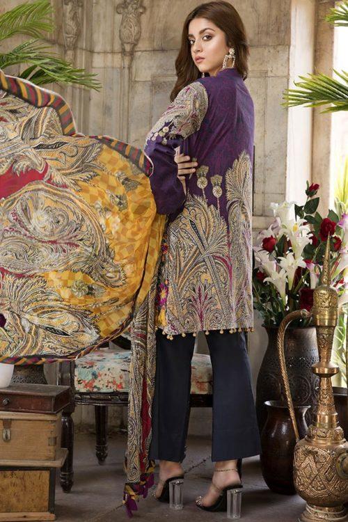 SatinStitch Lawn – Exclusive SatinStitch Lawn - Exclusive - Original Chiffon Dupatta Salwar Suit